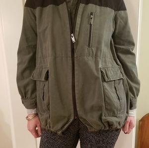 Zara army jacket